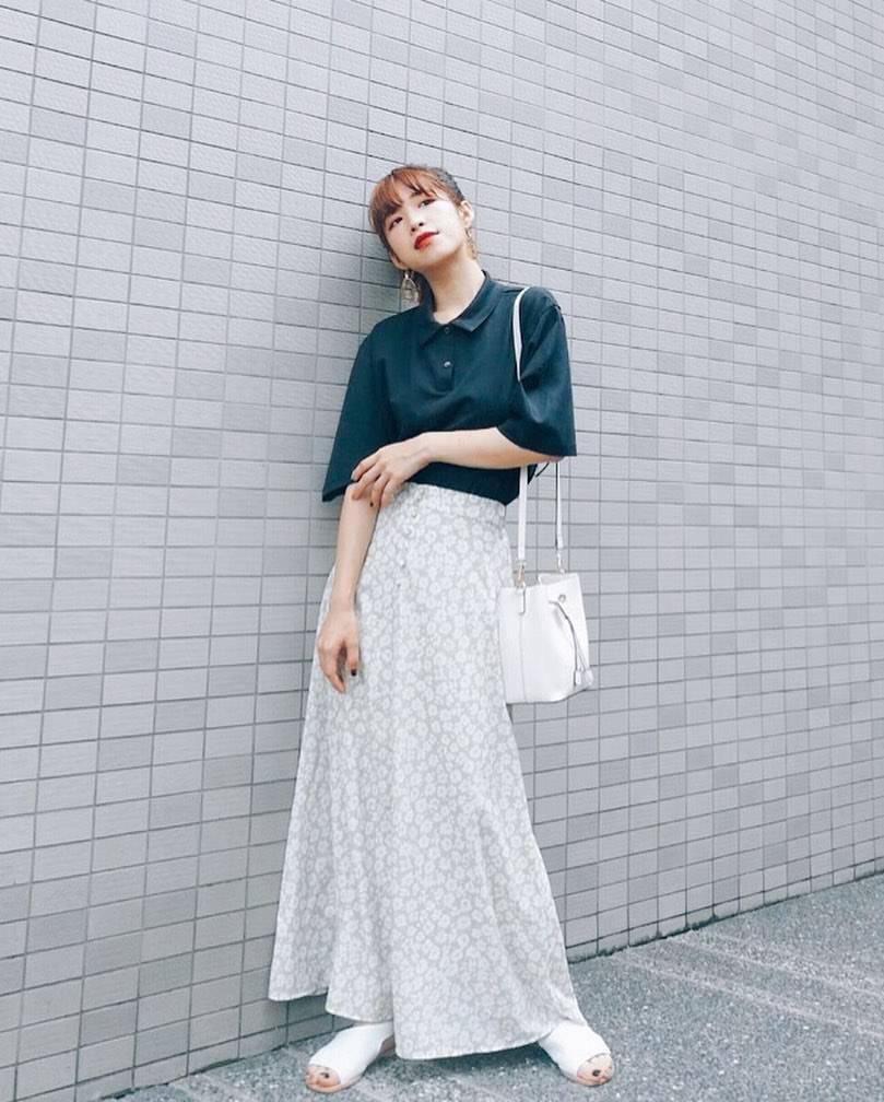 最高気温34度・最低気温24度 natsu_outfitsの服装