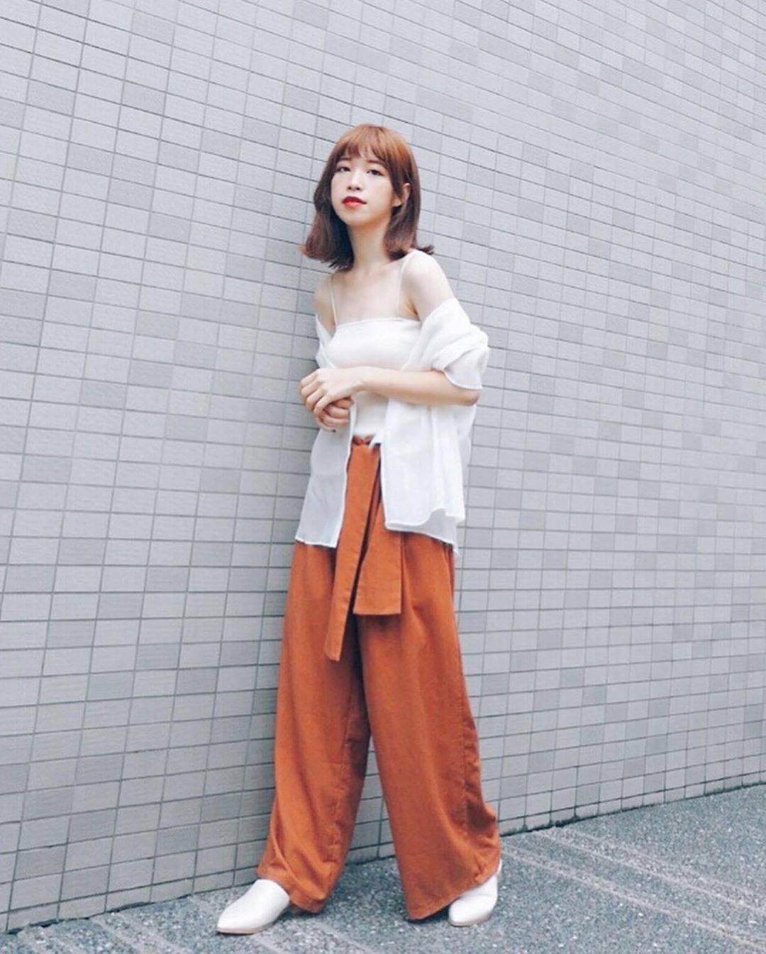 最高気温32度・最低気温23度 natsu_outfitsの服装