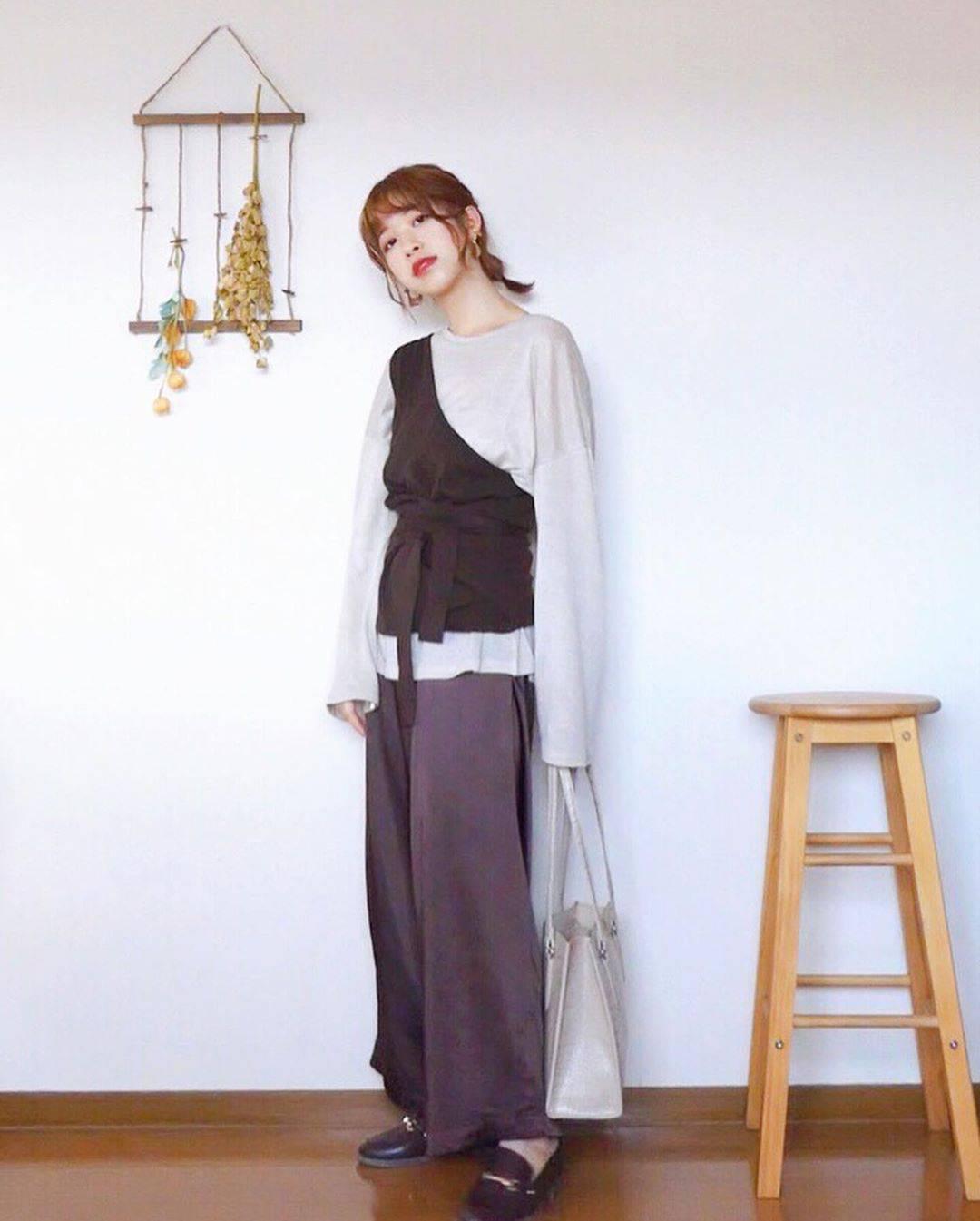 最高気温23度・最低気温18度 natsu_outfitsの服装