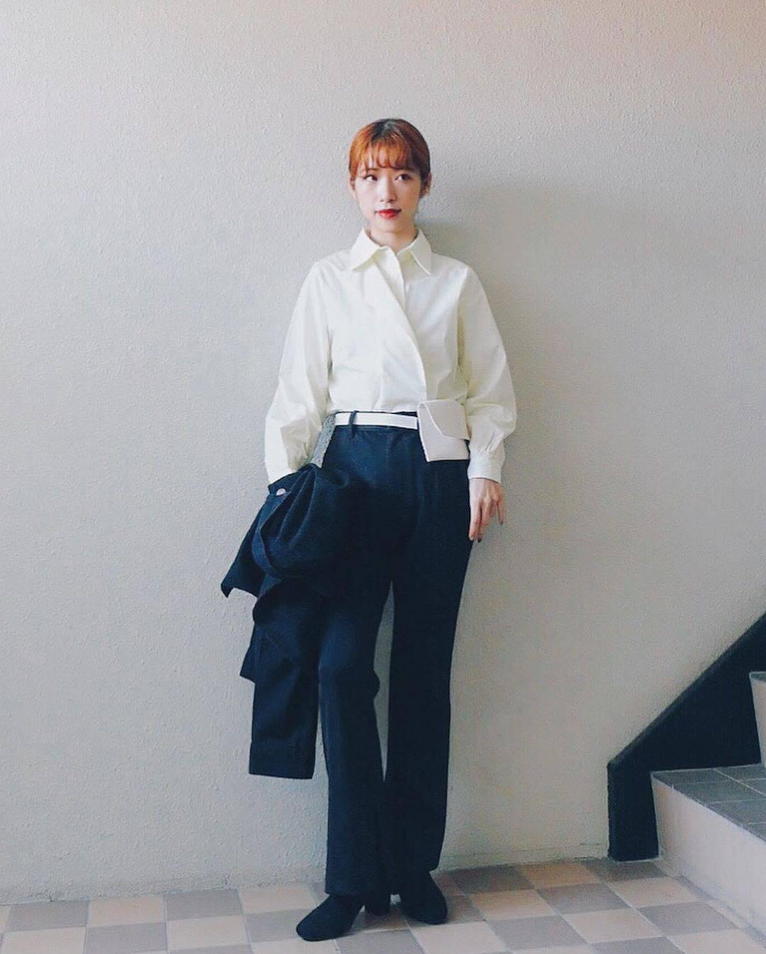 最高気温22度・最低気温14度 natsu_outfitsの服装
