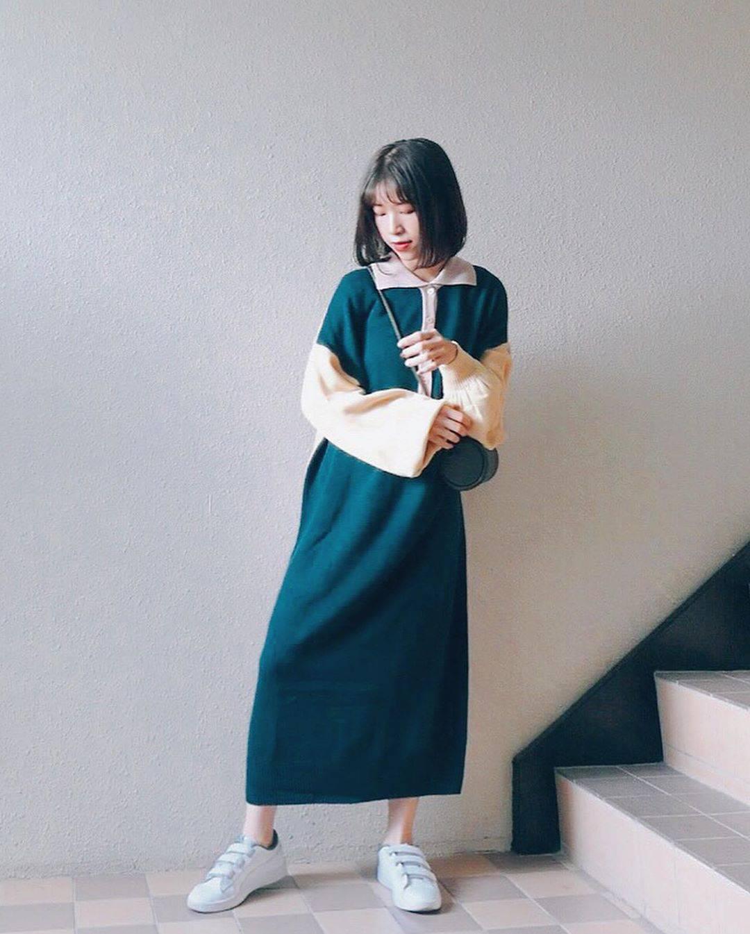 最高気温19度・最低気温11度 natsu_outfitsの服装