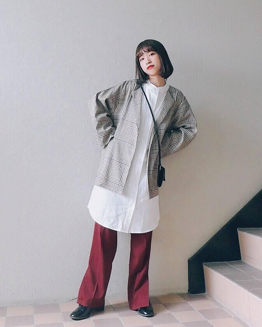 最高気温17度・最低気温11度 natsu_outfitsの服装