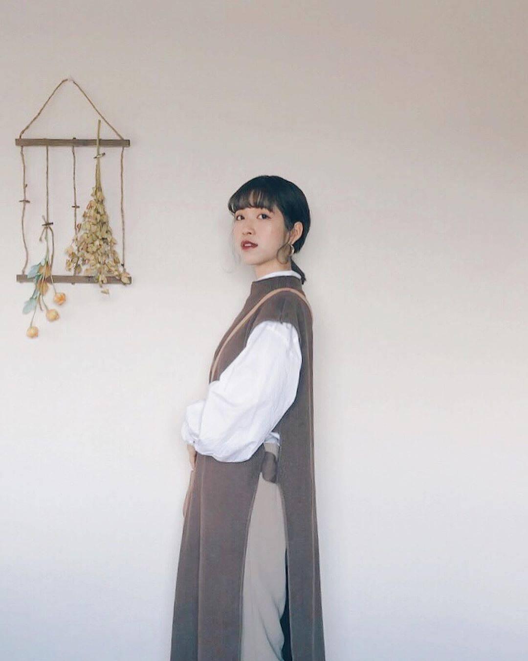 最高気温22度・最低気温11度 natsu_outfitsの服装