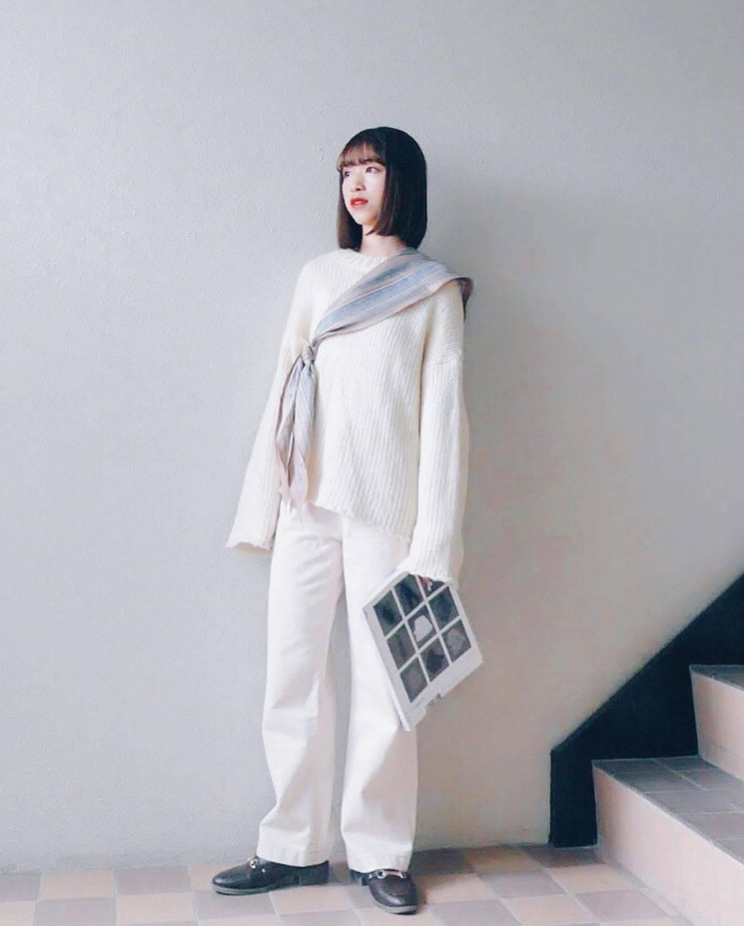 最高気温10度・最低気温6度 natsu_outfitsの服装