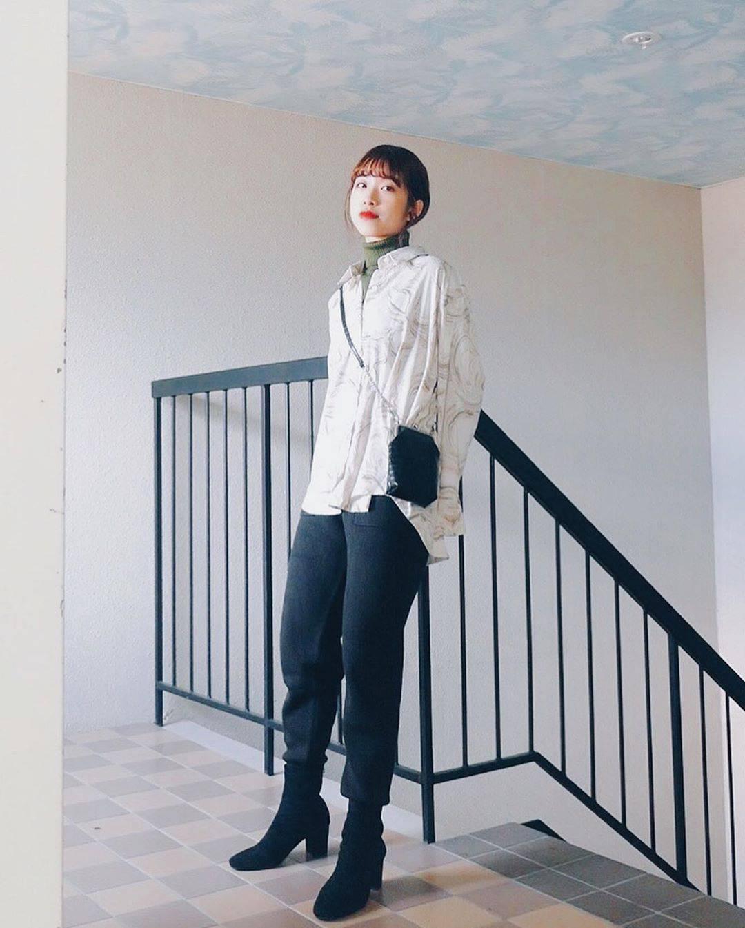 最高気温13度・最低気温6度 natsu_outfitsの服装