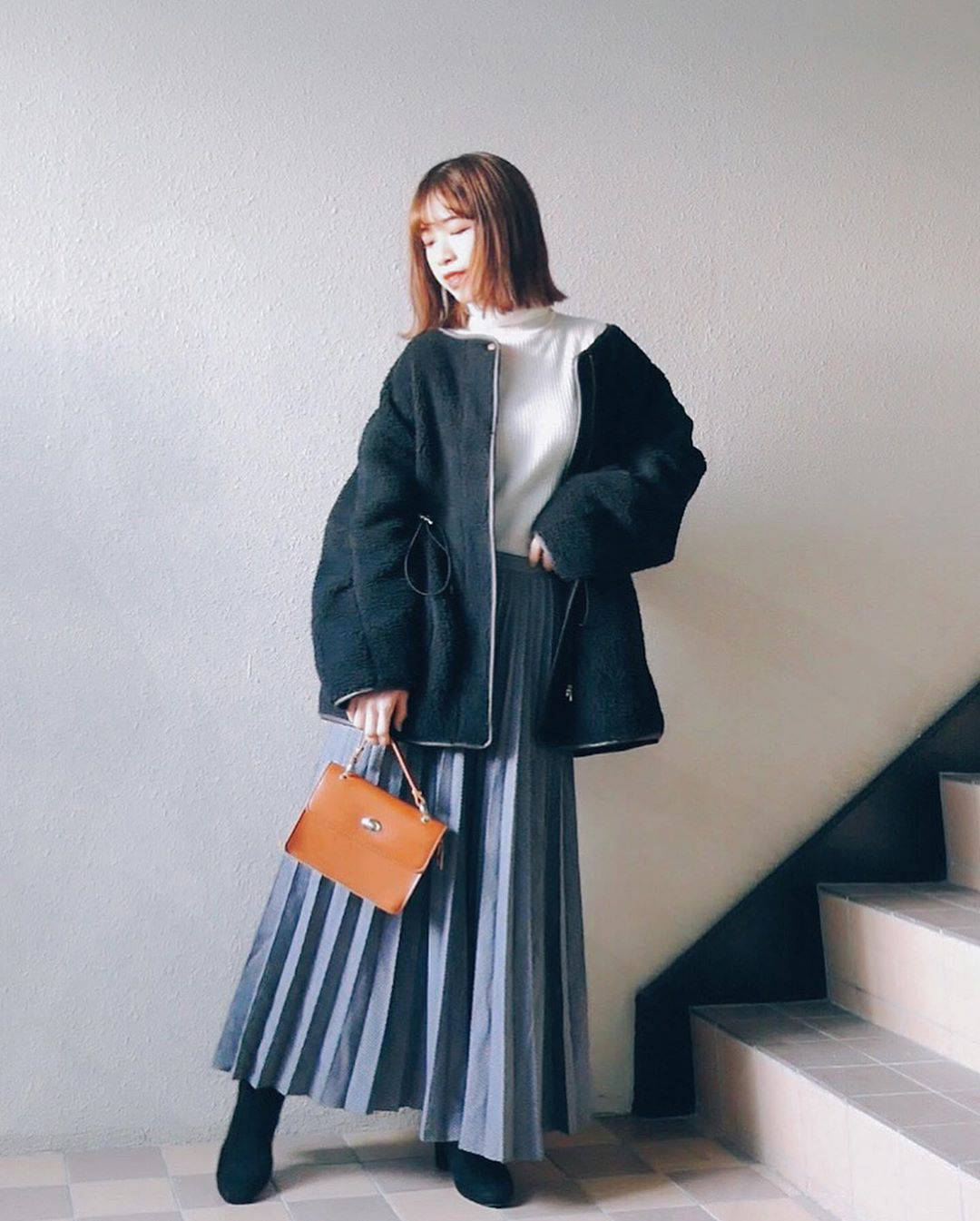 最高気温15度・最低気温6度 natsu_outfitsの服装