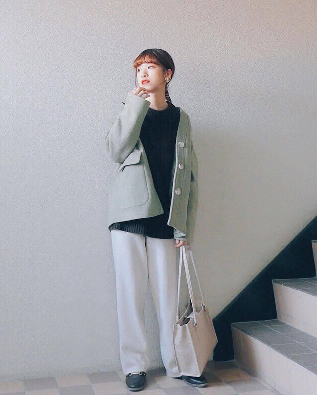 最高気温16度・最低気温6度 natsu_outfitsの服装