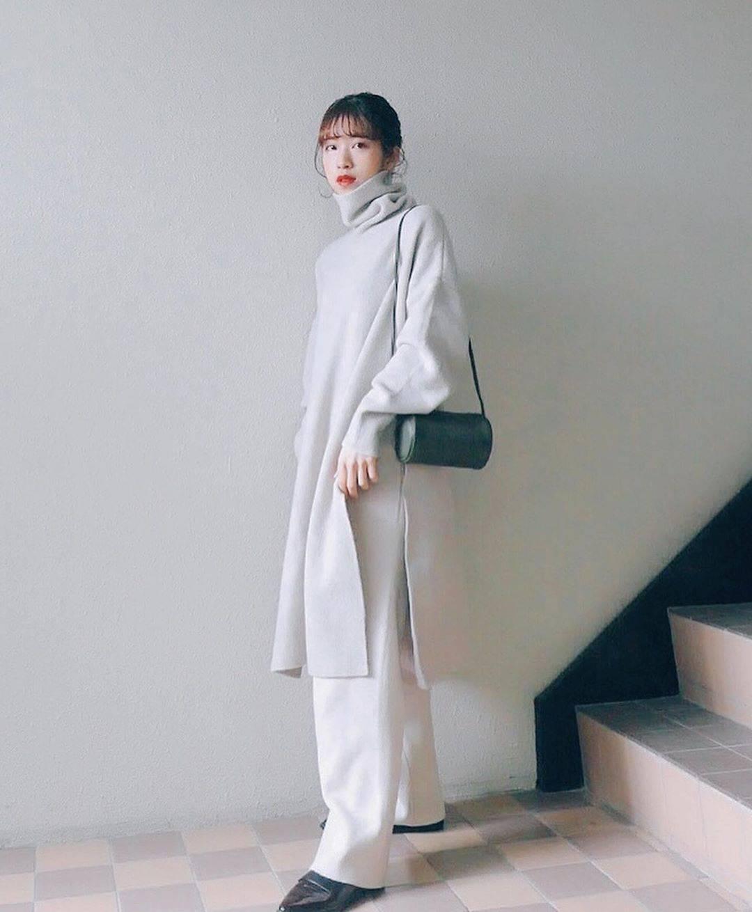 最高気温9度・最低気温5度 natsu_outfitsの服装