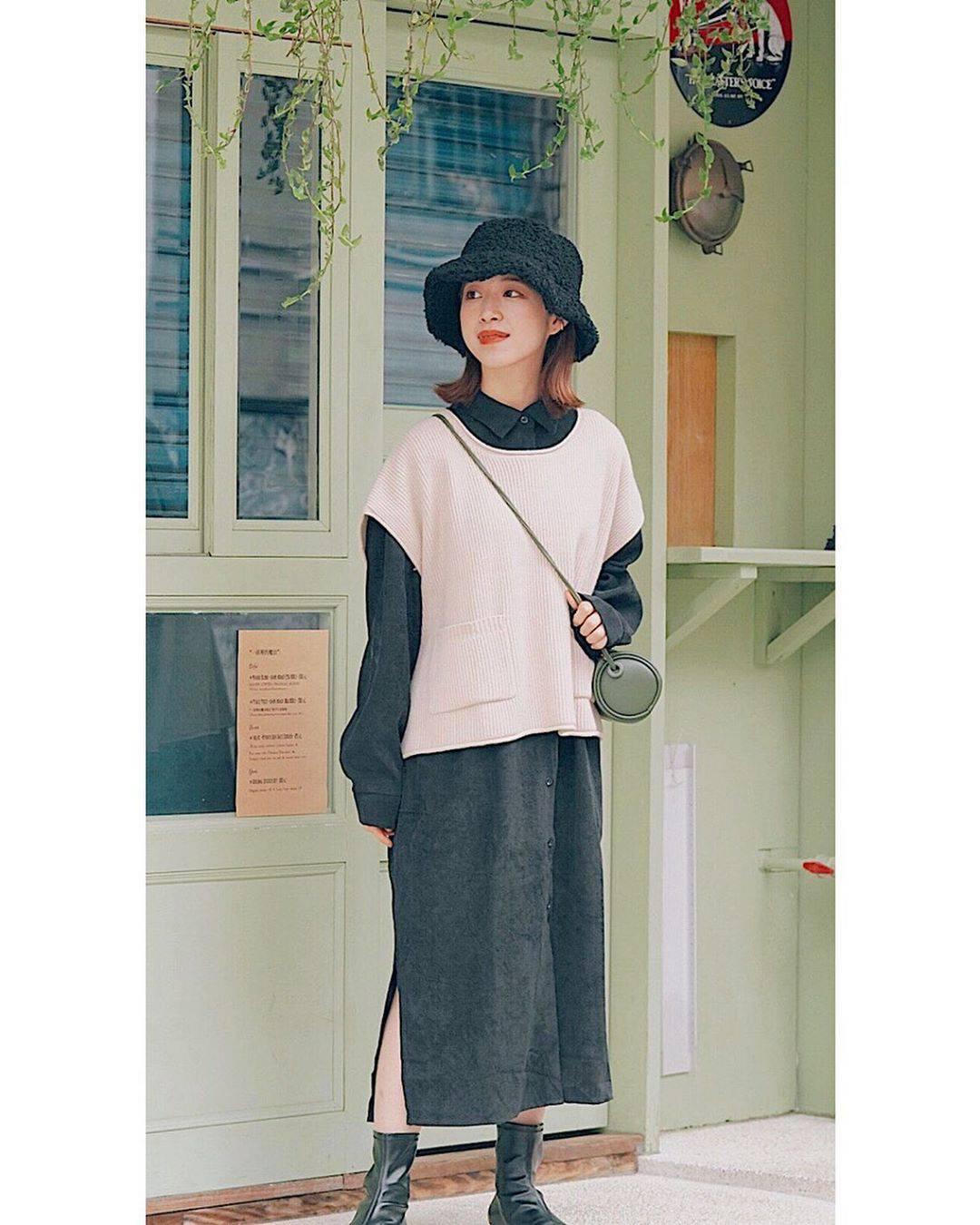 最高気温13度・最低気温4度 natsu_outfitsの服装