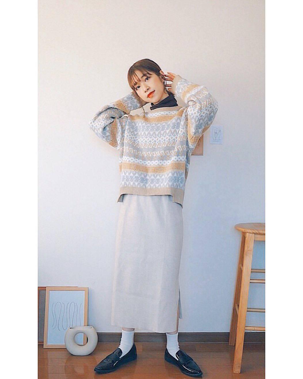 最高気温11度・最低気温3度 natsu_outfitsの服装