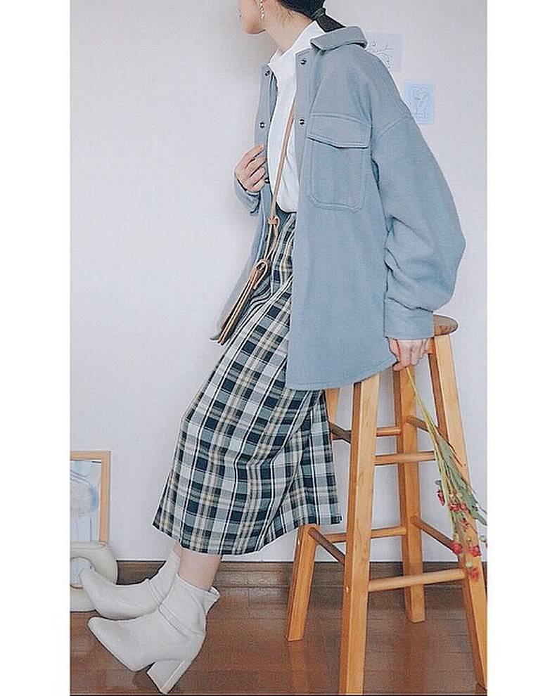 最高気温13度・最低気温7度 natsu_outfitsの服装