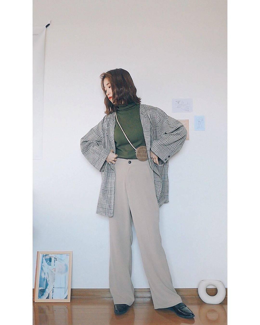 最高気温15度・最低気温2度 natsu_outfitsの服装