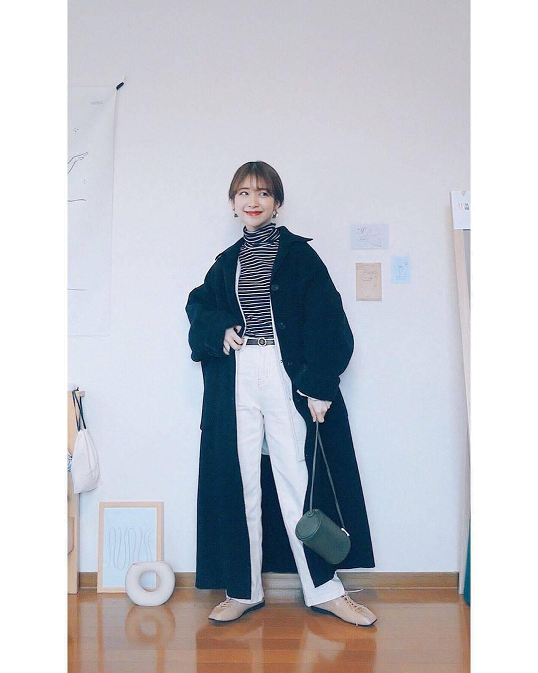 最高気温12度・最低気温0度 natsu_outfitsの服装