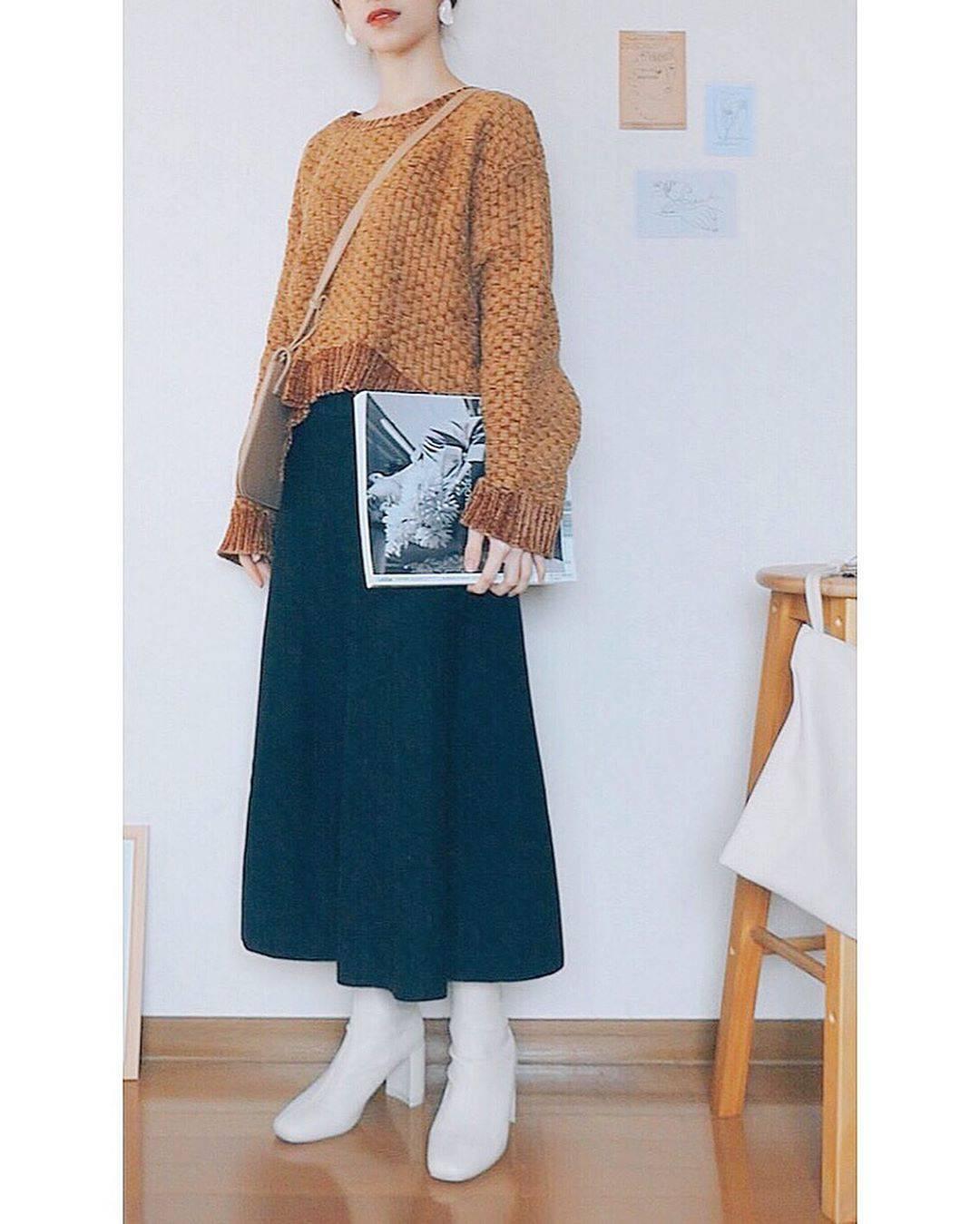 最高気温16度・最低気温5度 natsu_outfitsの服装