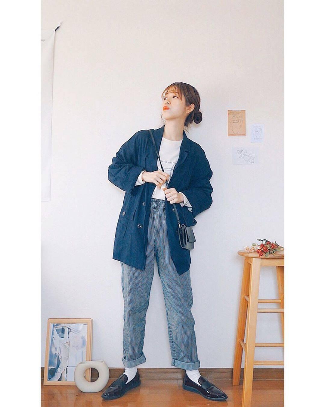 最高気温12度・最低気温6度 natsu_outfitsの服装