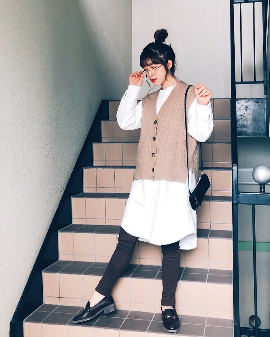 最高気温20度・最低気温13度 natsu_outfitsの服装