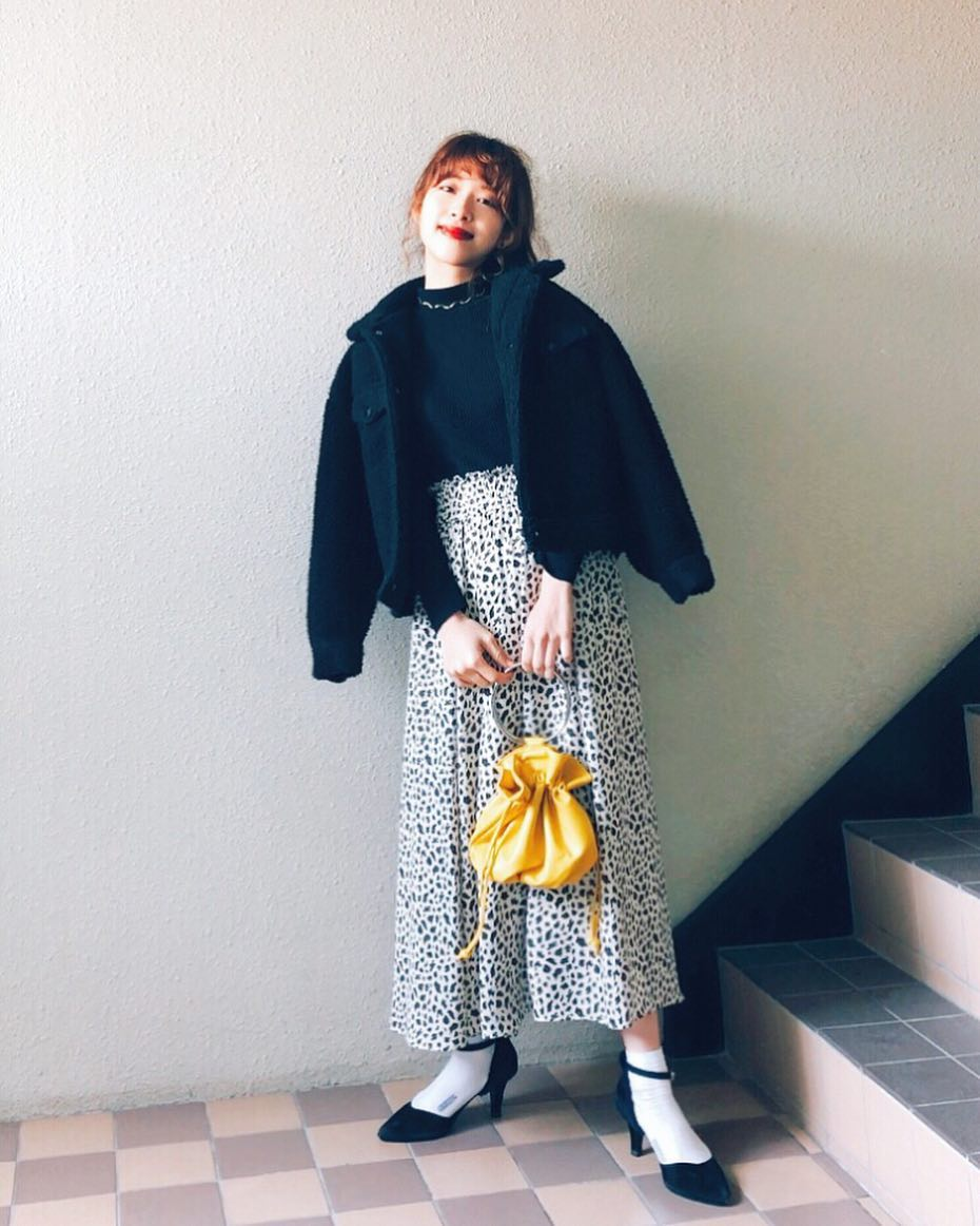 最高気温14度・最低気温4度 natsu_outfitsの服装