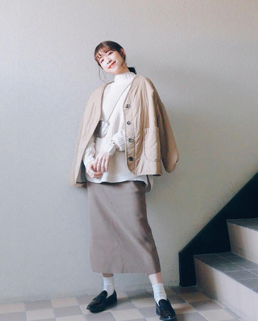最高気温15度・最低気温10度 natsu_outfitsの服装
