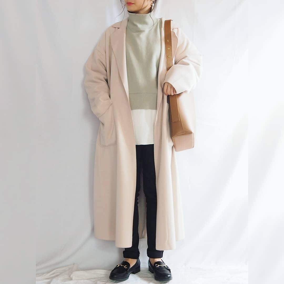 最高気温15度・最低気温5度 panawear77の服装