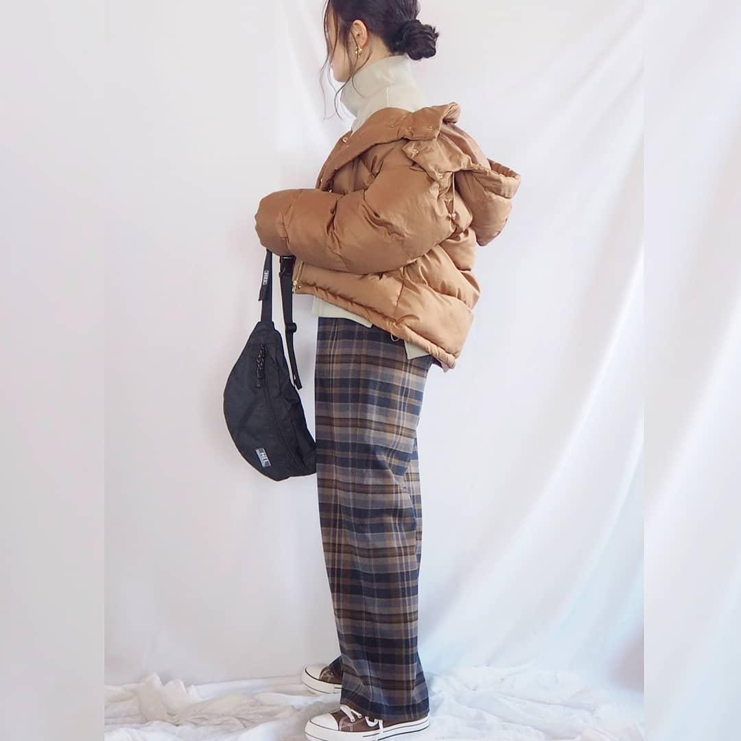 最高気温5度・最低気温0度 panawear77の服装
