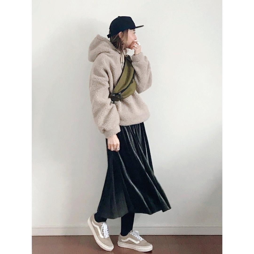 最高気温10度・最低気温0度 rainbowkwok2の服装