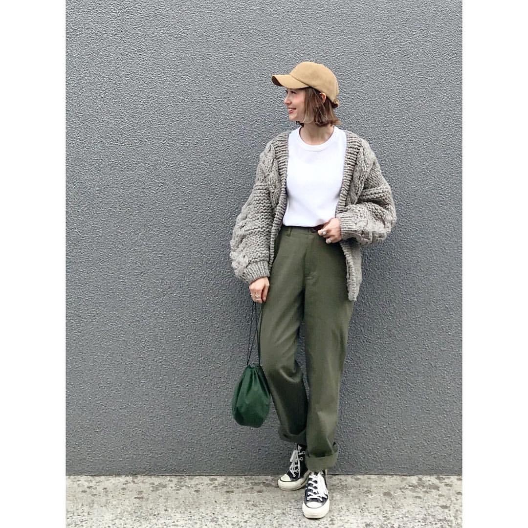 最高気温11度・最低気温1度 rainbowkwok2の服装