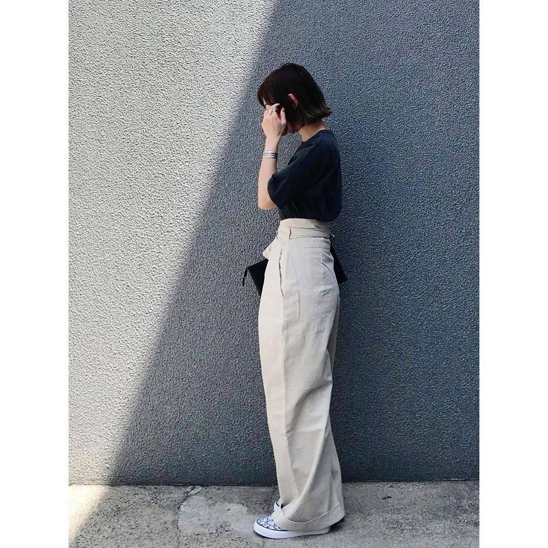 最高気温22度・最低気温7度 rainbowkwok2の服装