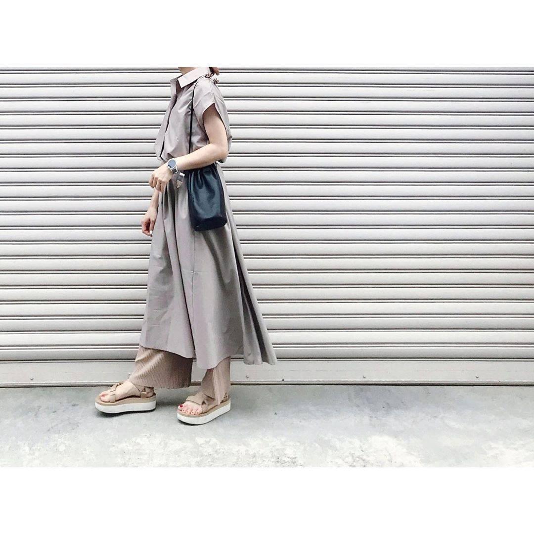 最高気温21度・最低気温17度 rainbowkwok2の服装