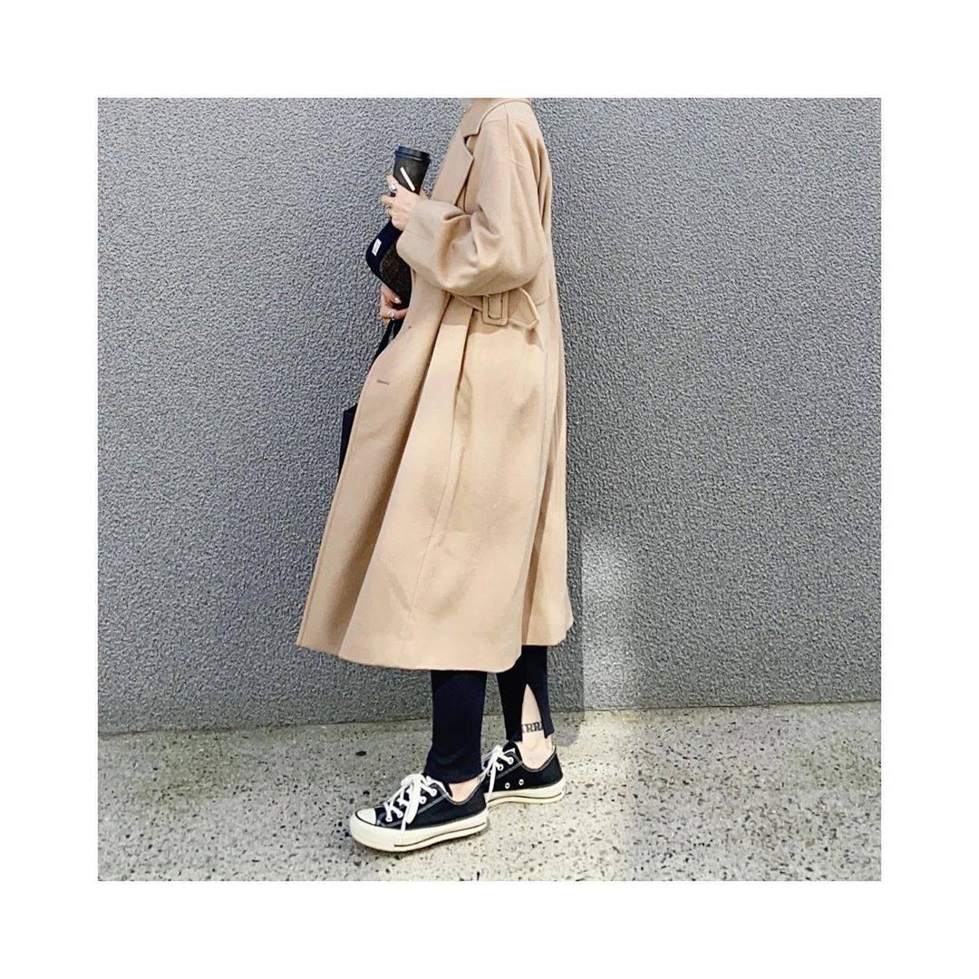 最高気温19度・最低気温14度 rainbowkwok2の服装
