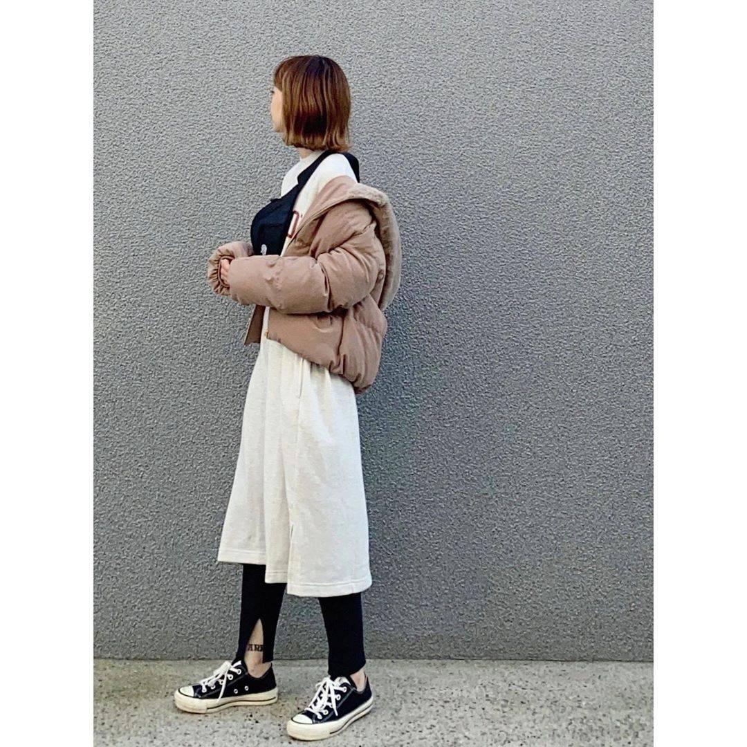 最高気温22度・最低気温14度 rainbowkwok2の服装
