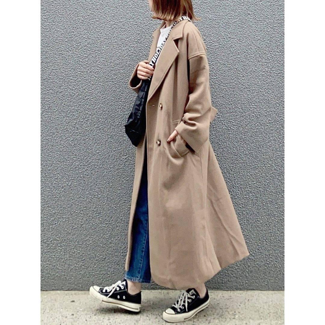 最高気温20度・最低気温11度 rainbowkwok2の服装