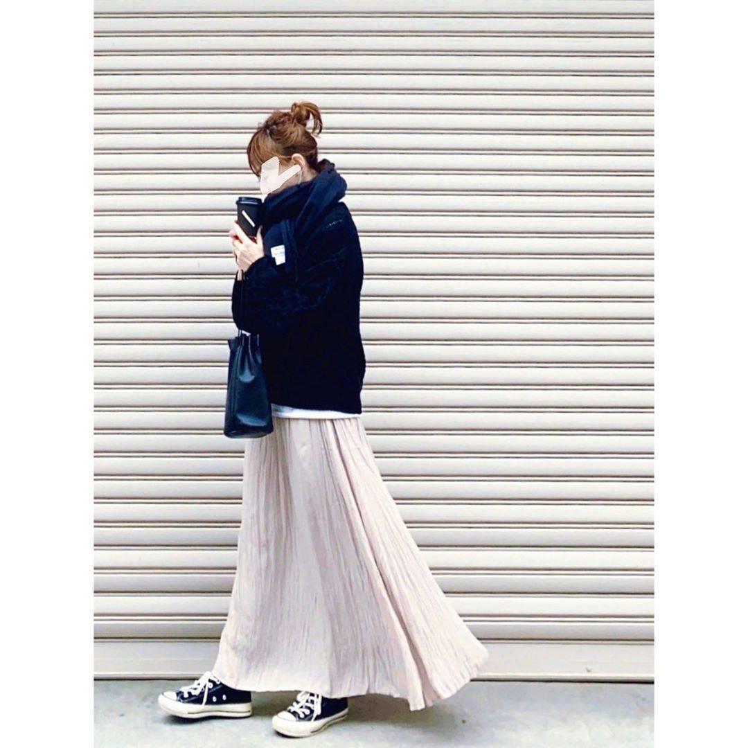 最高気温17度・最低気温6度 rainbowkwok2の服装