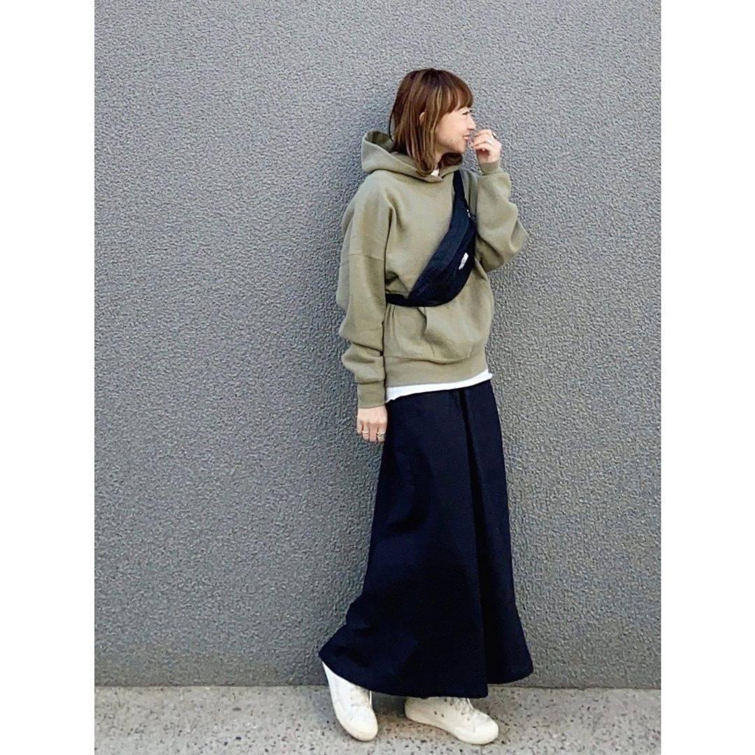 最高気温16度・最低気温5度 rainbowkwok2の服装