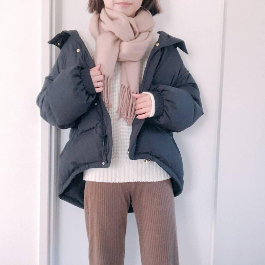 最高気温9度・最低気温6度 re_____rの服装