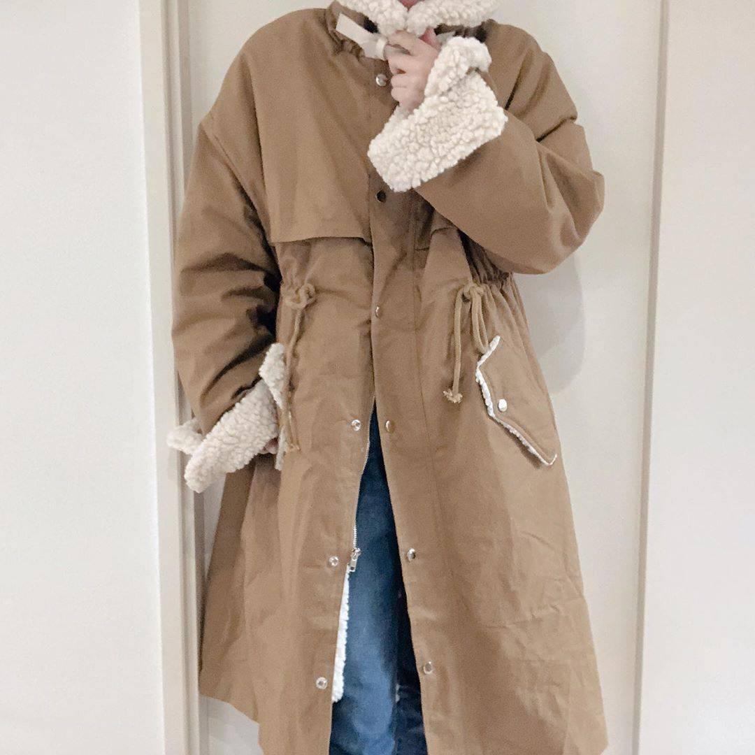 最高気温10度・最低気温0度 re_____rの服装