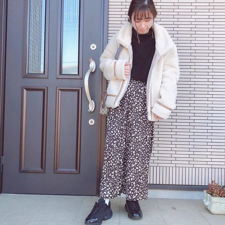 最高気温12度・最低気温5度 re_____rの服装
