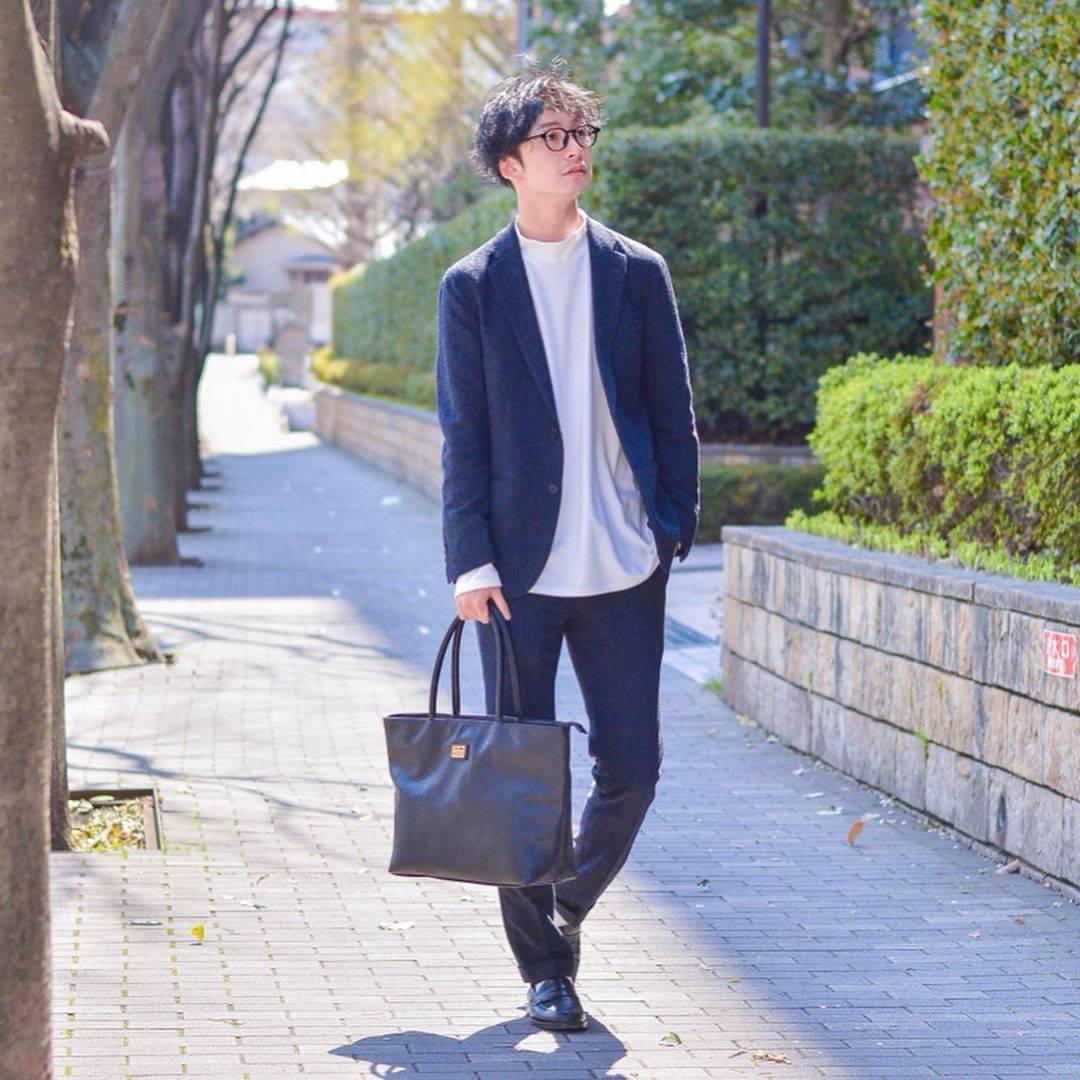 最高気温15度・最低気温5度 renji.1011の服装