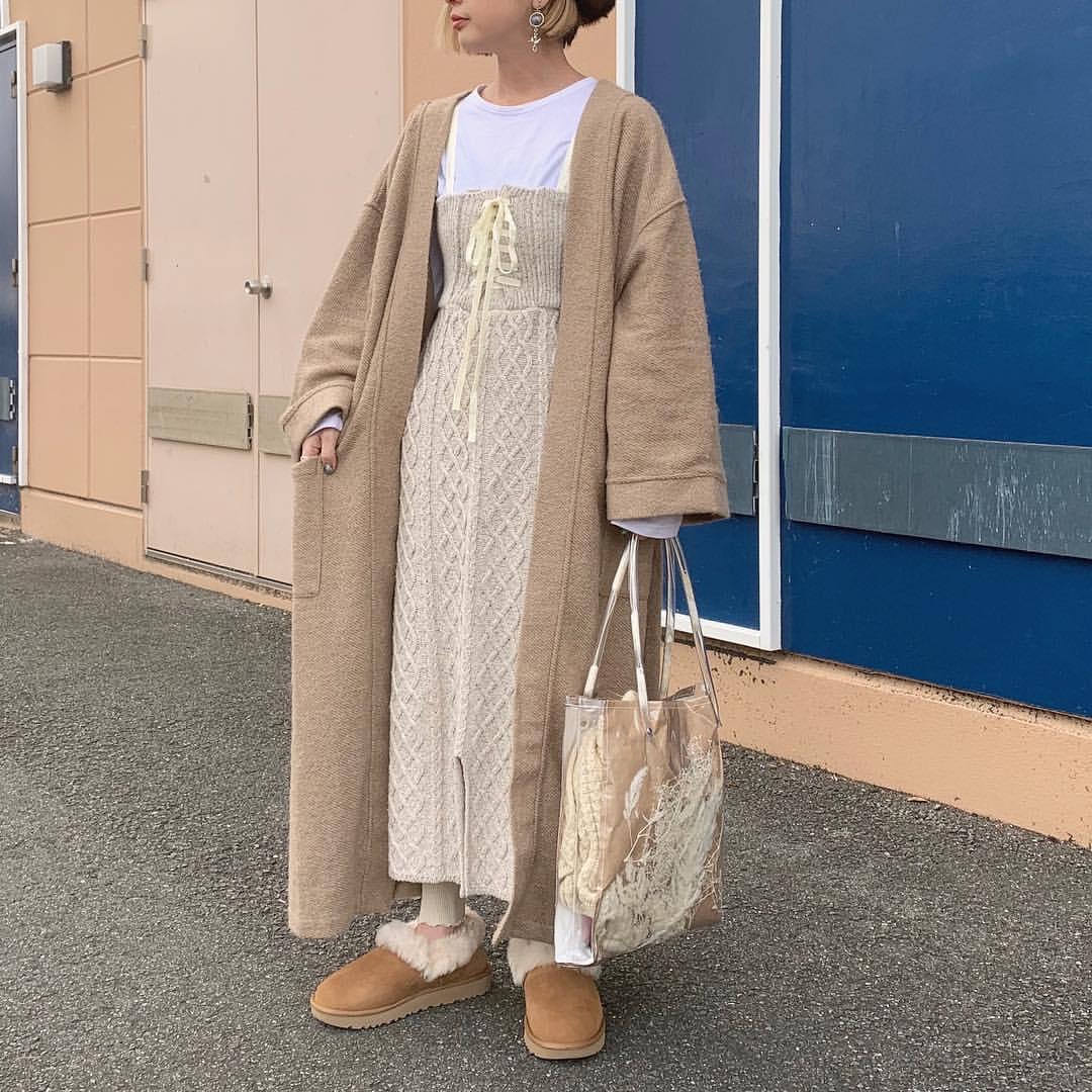最高気温9度・最低気温0度 rira_yukariの服装