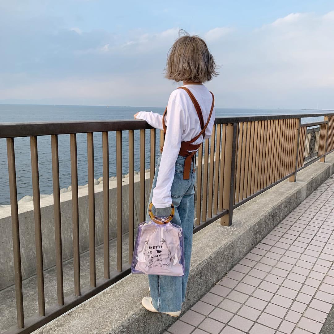 最高気温14度・最低気温2度 rira_yukariの服装