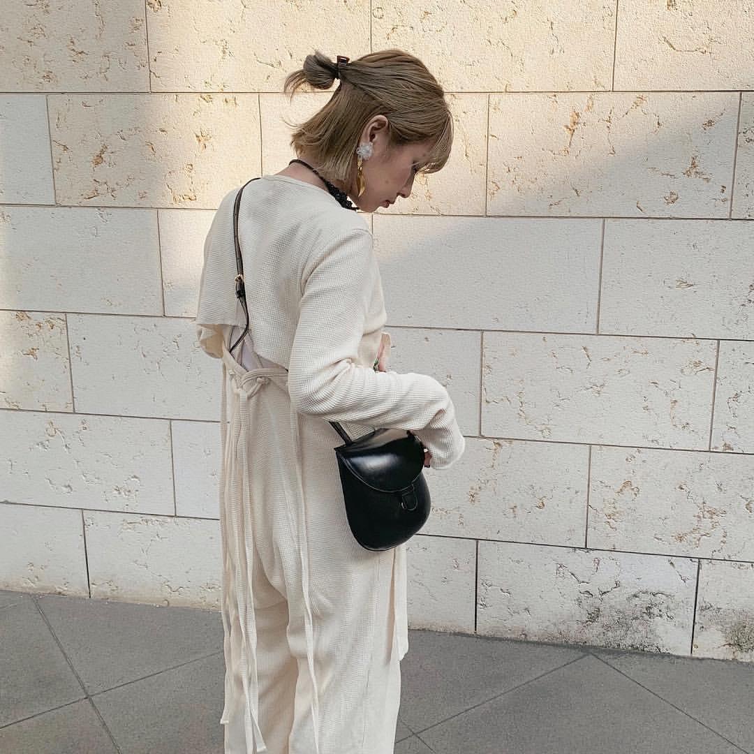 最高気温19度・最低気温7度 rira_yukariの服装
