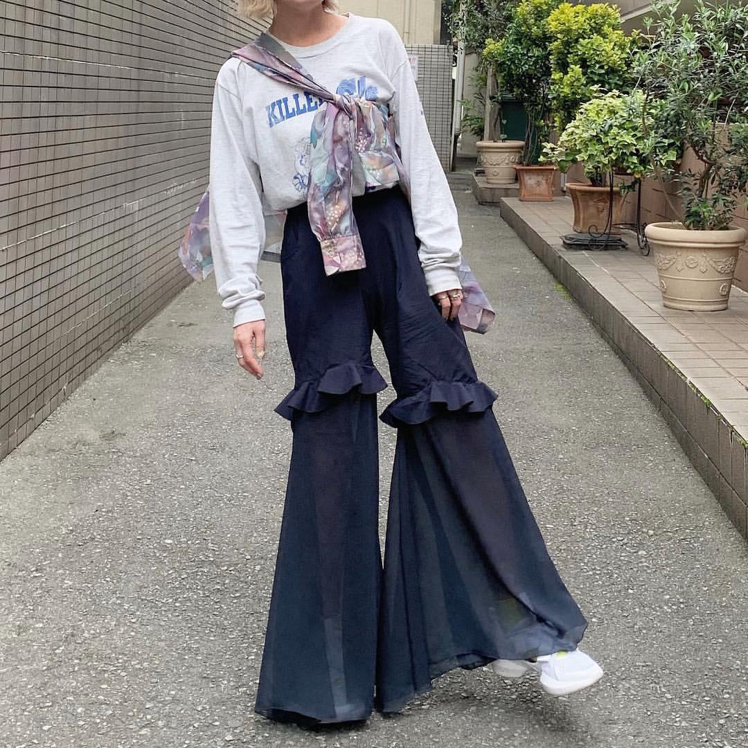 最高気温22度・最低気温15度 rira_yukariの服装