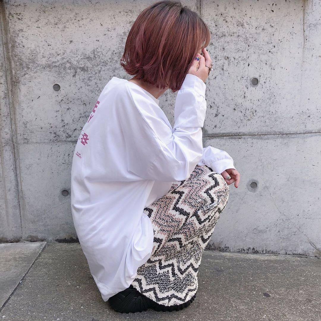最高気温35度・最低気温26度 rira_yukariの服装