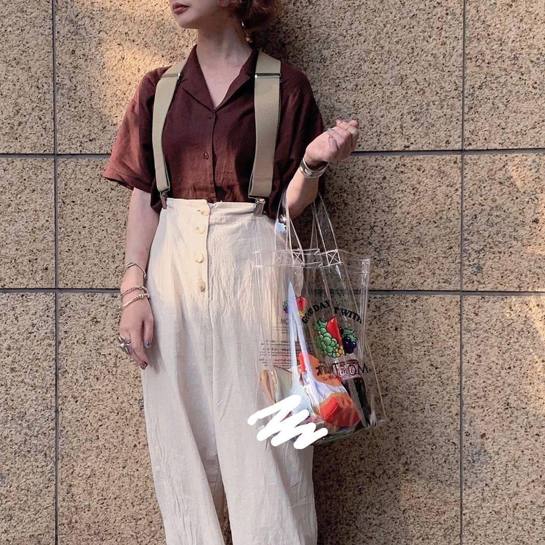 最高気温32度・最低気温25度 rira_yukariの服装