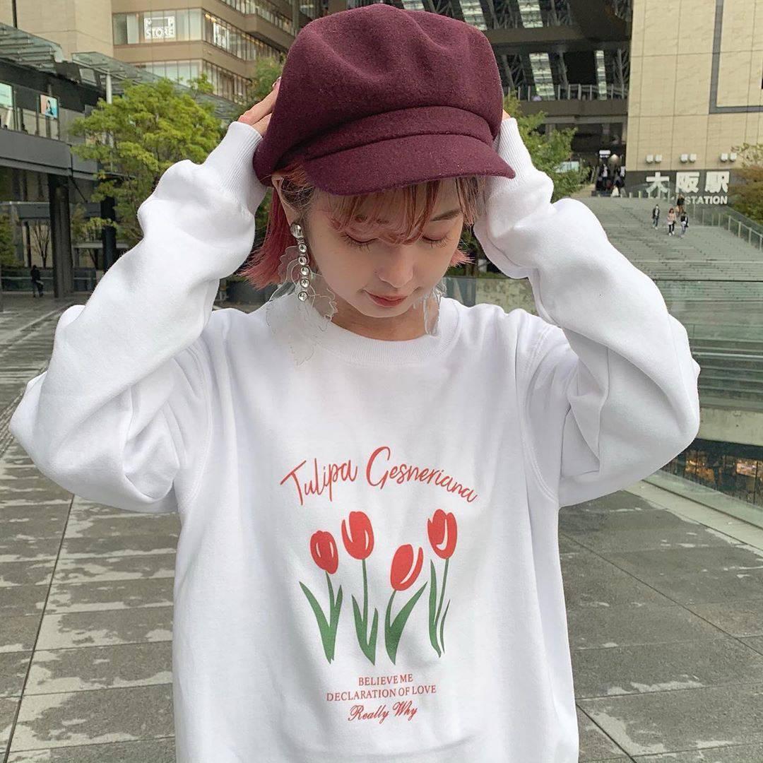最高気温24度・最低気温13度 rira_yukariの服装