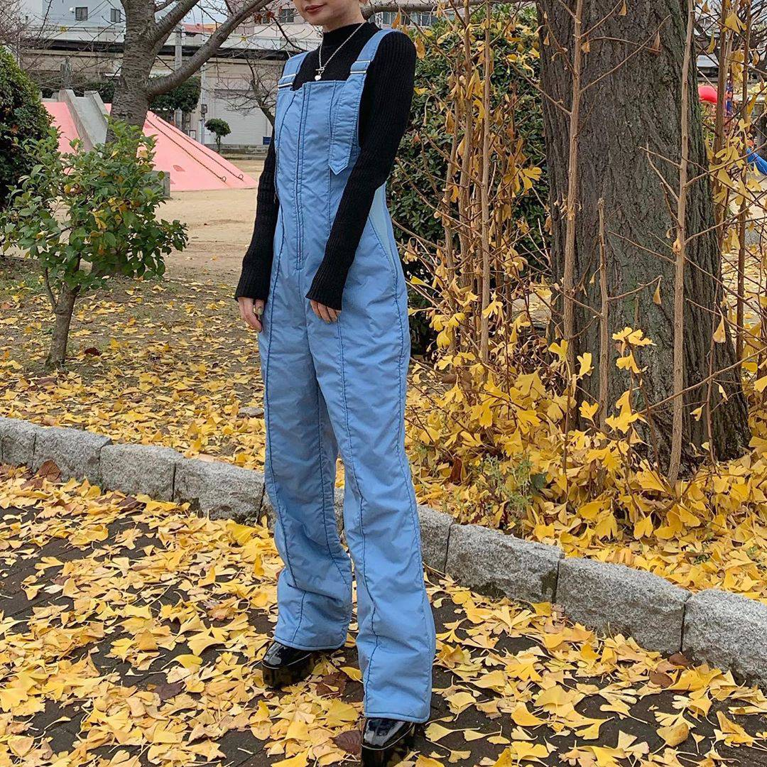 最高気温11度・最低気温8度 rira_yukariの服装