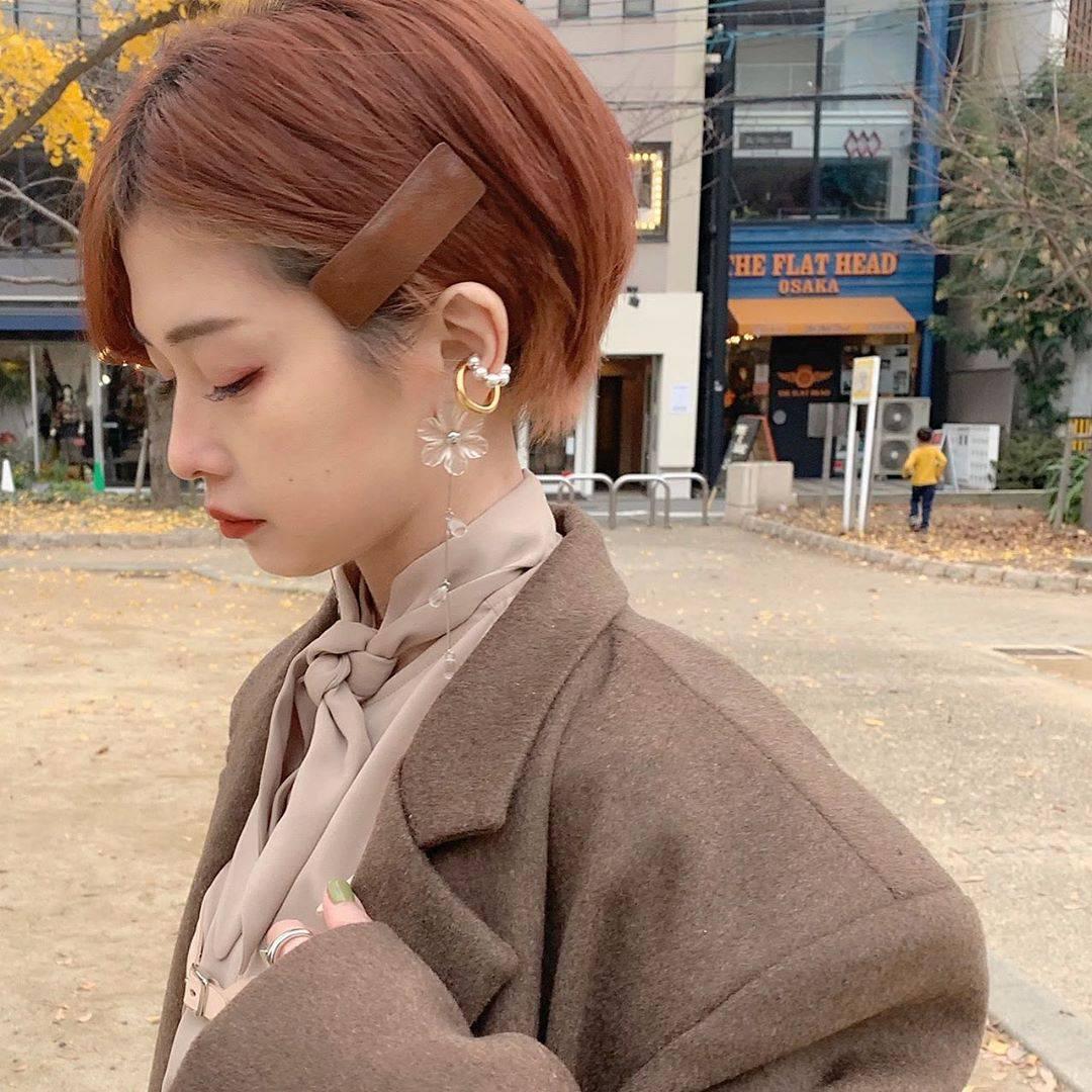 最高気温9度・最低気温6度 rira_yukariの服装