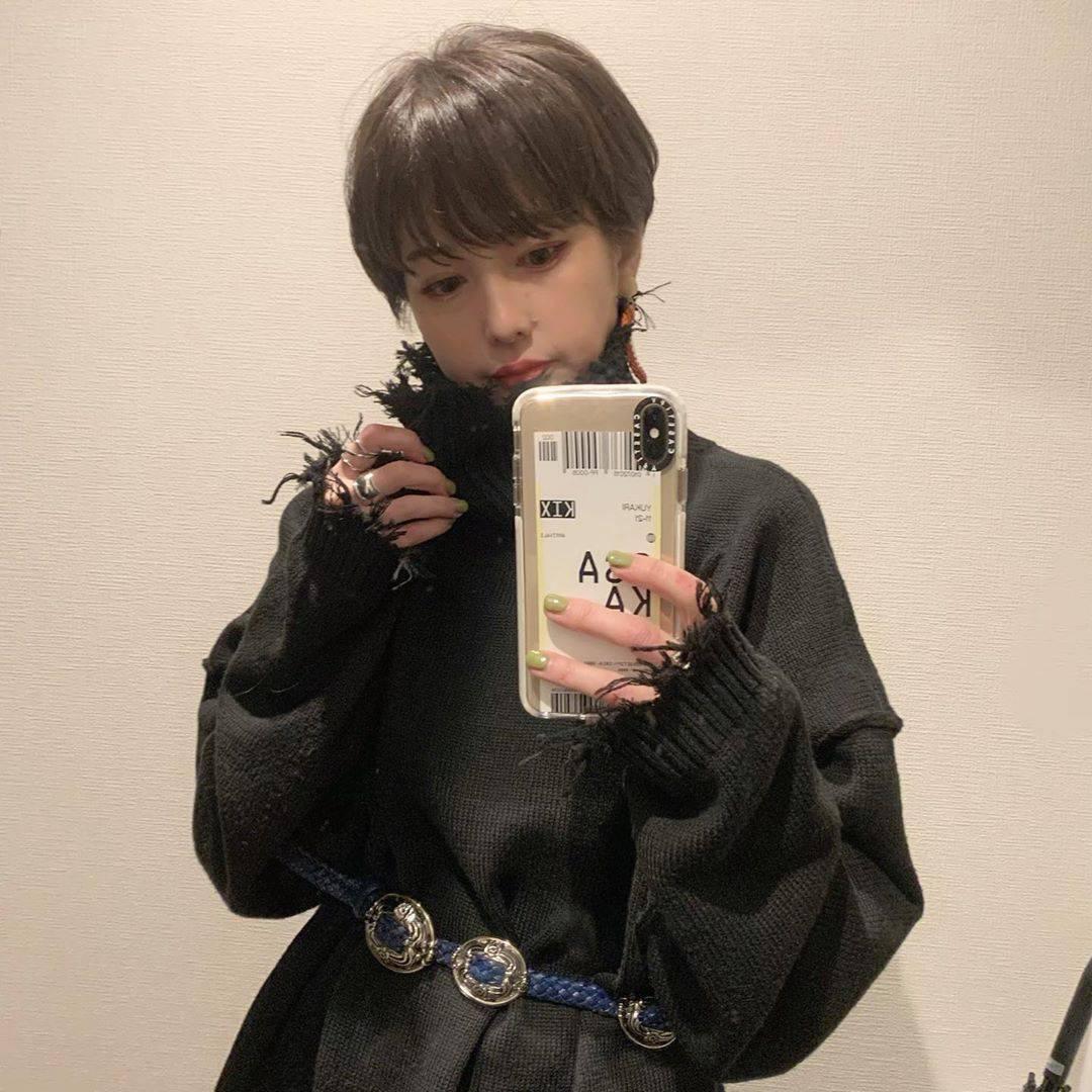 最高気温8度・最低気温5度 rira_yukariの服装