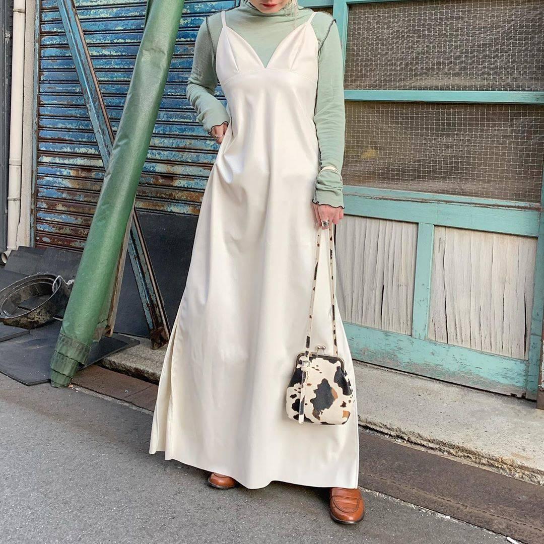 最高気温15度・最低気温2度 rira_yukariの服装