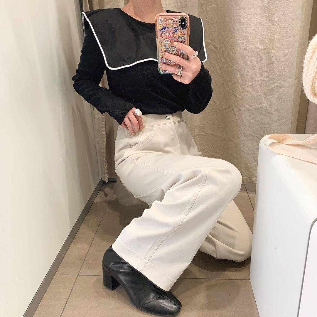 最高気温7度・最低気温-1度 rira_yukariの服装