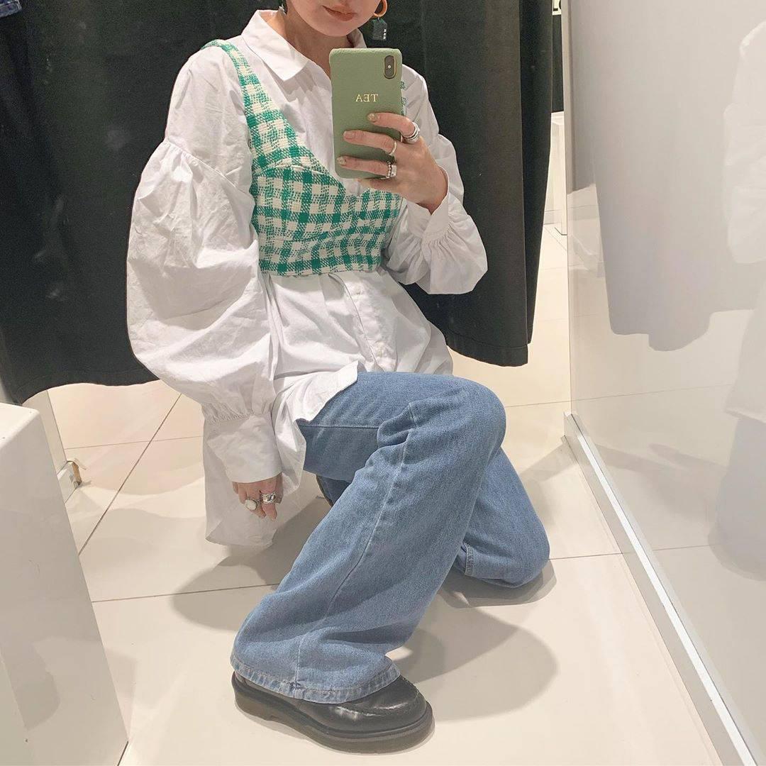 最高気温12度・最低気温2度 rira_yukariの服装